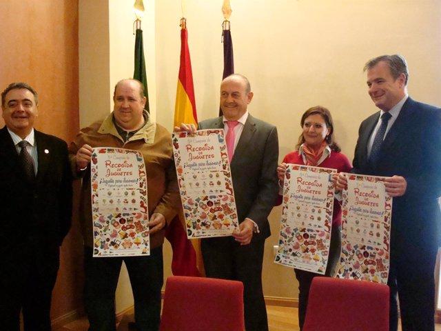 Presentación de la III Campaña de Recogida de Juguetes en Jaén