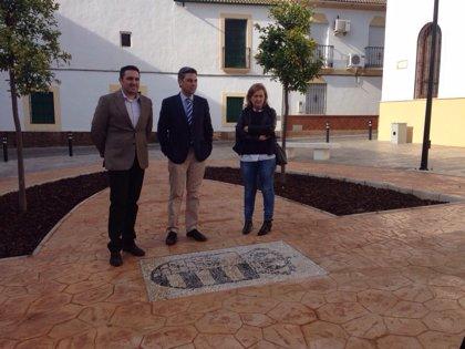 La Diputación concluye el acondicionamiento de la Plaza del Ayuntamiento de Posadas