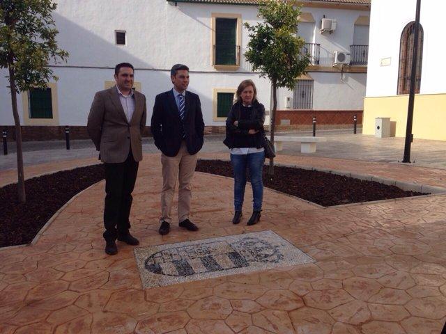 Lorite (centro), en la plaza de Posadas