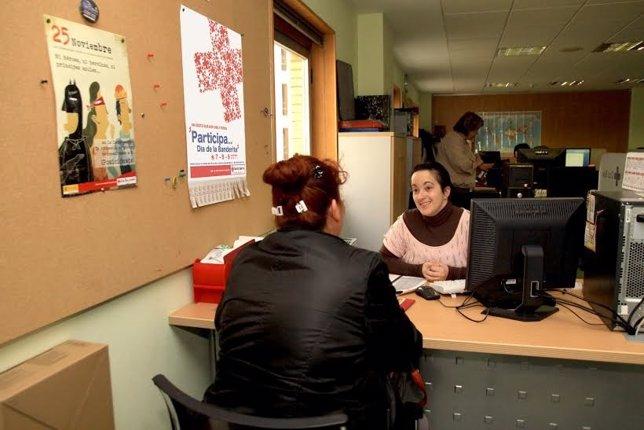 Cruz Roja valora la labor de sus voluntarios.