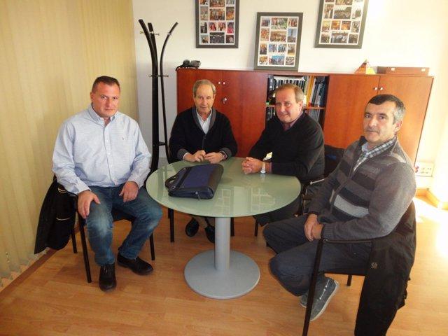 José Ignacio Llorens se ha reunido este miércoles en Lleida