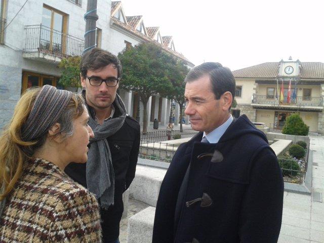 Tomás Gómez en Torrelodones