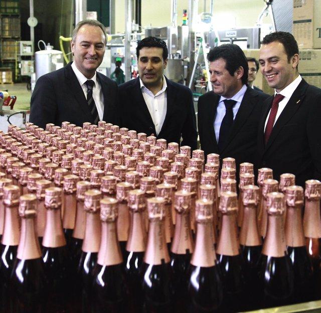 El cava valenciano duplicará la producción