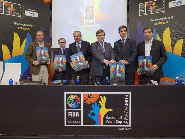 Sáez en la presentación del impacto socio-económico del Mundobasket