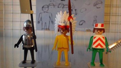 Un diorama de Playmobil rendirá homenaje a los 'gamusinos' este sábado en el Centro Comercial La Ermita