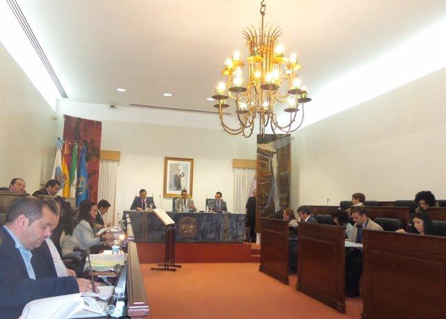 Pleno correspondiente al mes de noviembre en la Diputación Provincial.
