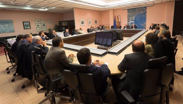Reunión del presidente de Puertos del Estado con concesionarios de Santander