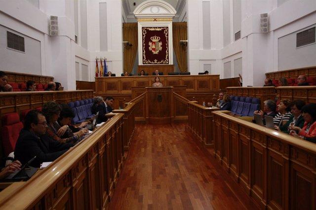 Pleno de las Cortes de Castilla-La Mancha