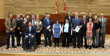 Discapacitados intelectuales defienden en la Asamblea su derecho a participar en la vida política