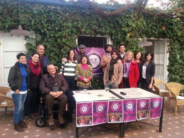 Presentación de 'Hoy Podemos Córdoba' con Juana Guerrero