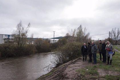 Arranca la segunda fase de construcción del nuevo puente sobre el río Híjar