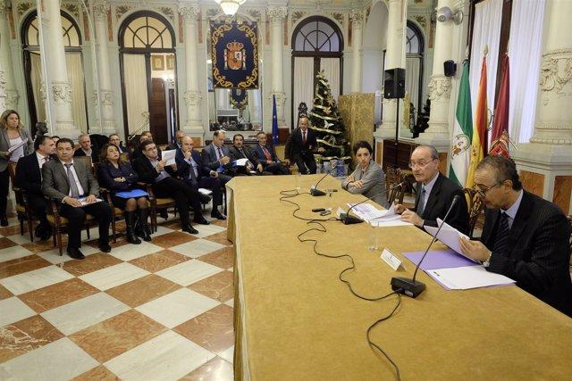Alcaldes de Marruecos se reúnen en Málaga con De la Torre