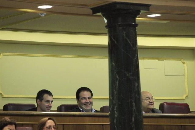 Jon Iñarritu e Iker Urbina, diputados de Amaiur