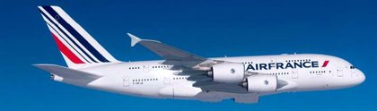 Air France opera su ruta con París-Miami con el nuevo A380