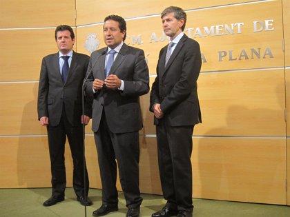 Císcar dice que se trabaja con los vuelos comerciales que deben llegar al Aeropuerto de Castellón en primavera-verano