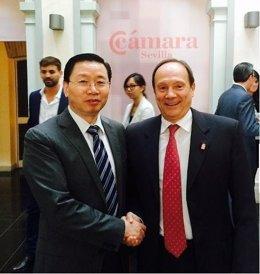 Moya-Angeler, consigue situar a Murcia en la cadena 'Chinese friendly cities'