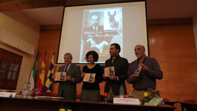 Presentación en Moguer de un sello conmemorativo de 'Platero y yo'