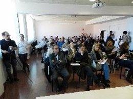 Entidades de personas discapacitadas leeen un manifiesto en Lleida