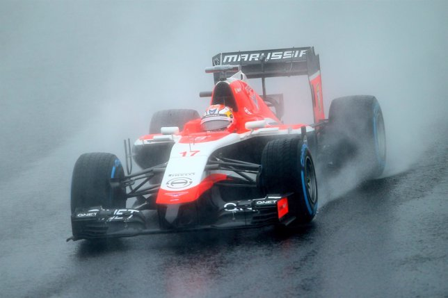 Jules Bianchi en el circuito de Suzuka, Japón