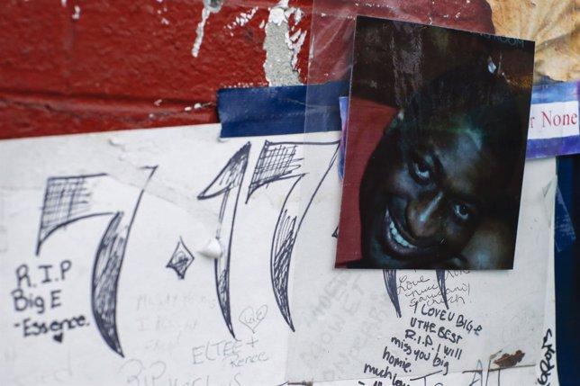 Una foto de Eric Garner
