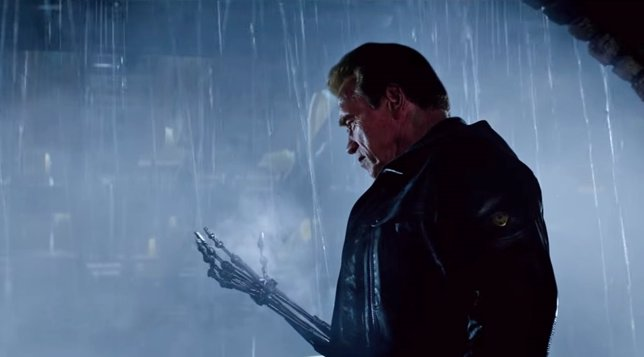Arnold Schwarzenegger en Terminator Genisys,