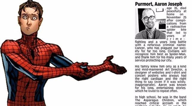 Un hombre afirma ser Spider-Man tras morir