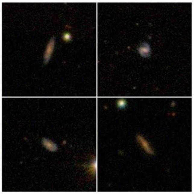Hidrógeno en galaxias distantes