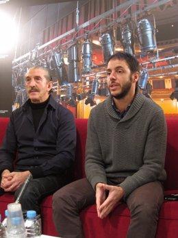 Los actores Ramón Elizondo e Ignacio Horno.