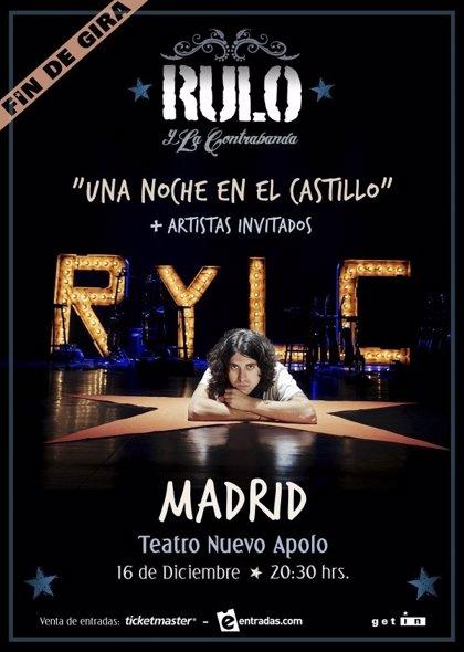 Rulo y La Contrabanda cierran gira en el Teatro Nuevo Apolo de Madrid