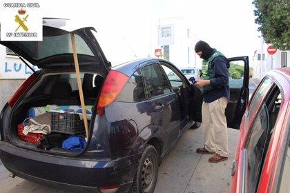 Desarticulada una red que introdujo en Marruecos 265 coches robados en dos años