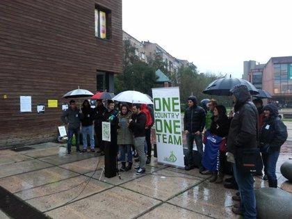 """""""One country, one team"""", lema de Jauzia para reclamar la oficialidad de las selecciones deportivas vascas"""