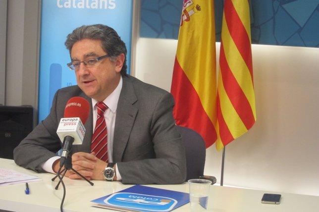 El vicesecretario de Acción Política del PPC, Enric Millo