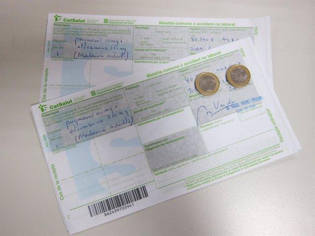 Euro Por Receta. Receta. Recetas.