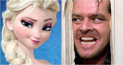¿Es Frozen la versión Disney de El resplandor?