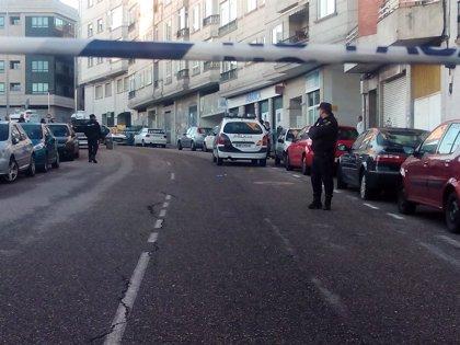 El policía herido en Vigo dedica un recuerdo a su compañera fallecida