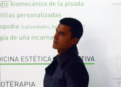 Álex González, preocupado por sus pies...  todo por el running