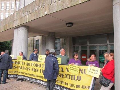BNG exige a Interior anular  expedientes sancionadores a preferentistas participantes en movilizaciones