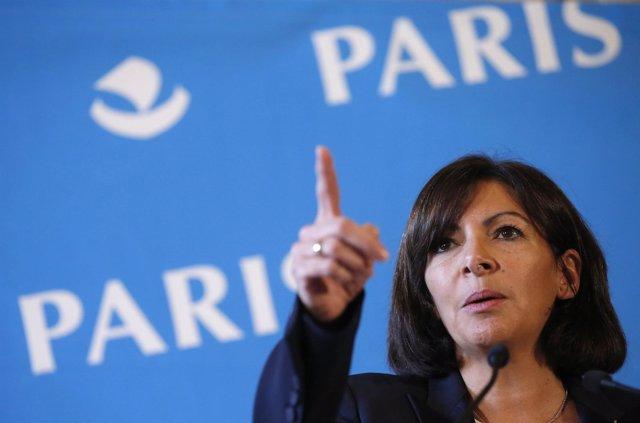 La alcaldesa de París, la gaditana Anne Hidalgo