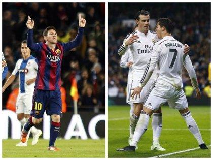 Ronaldo y Messi, el gol por bandera
