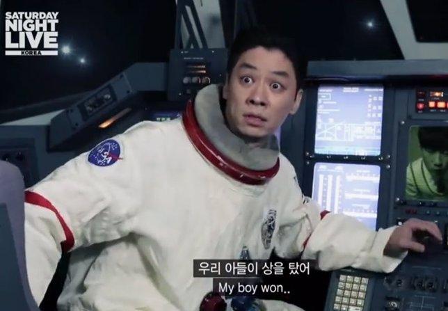 Interstellar en el Saturday Night Live de Corea