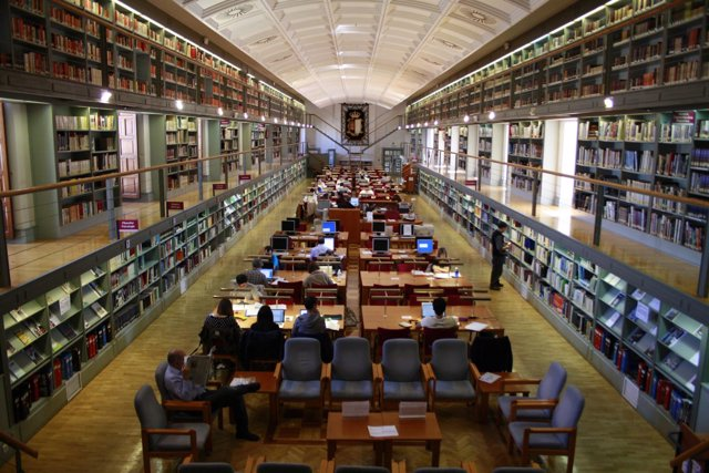 Biblioteca, Castilla la mancha, Libros, Toledo, Exámenes, Personas, lectura