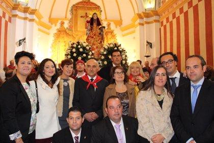 El presidente de la Comunidad resalta la gran devoción popular a Santa Eulalia de Mérida