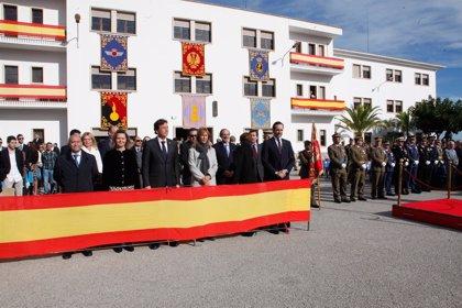 El Acuartelamiento Jaime II de Palma acoge la celebración de la Patrona de la Infantería