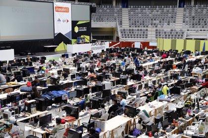 Los 600 participantes en la Araba Encounter mueven 440.000 gigas de datos