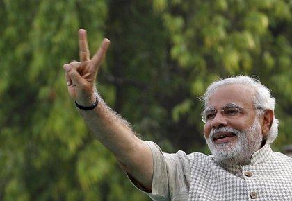 Los lectores de la revista 'Time' eligen a Narendra Modi como personaje del año