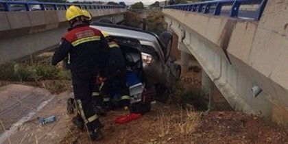 Atendidas 124 personas por 82 accidentes de tráfico en el puente