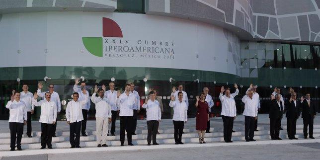 Inauguración En Veracruz De La XXIV Cumbre Iberoamericana