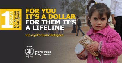El PAM reanuda la ayuda a los refugiados sirios gracias a una donación popular masiva