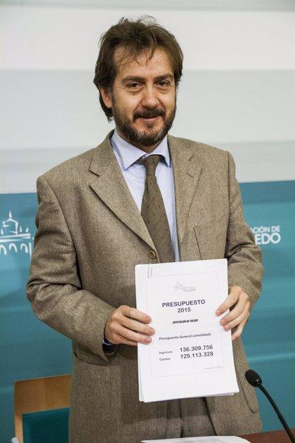 Diputación de Toledo rebaja su techo de gasto a 123 millones