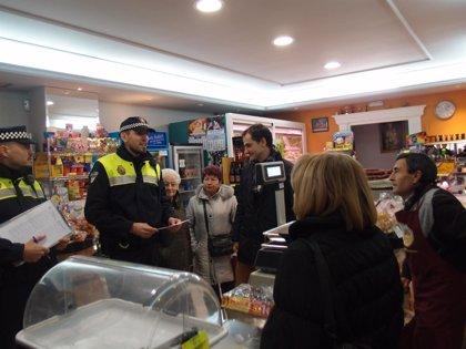 La Policía Local inicia el refuerzo de patrullas a pie en las zonas comerciales